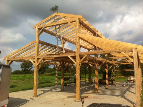 Timber Frame Kit Prices Timber Frame Barns Pole Barns