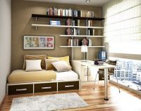 Study Space Ideas | bedroom with study room design for ...