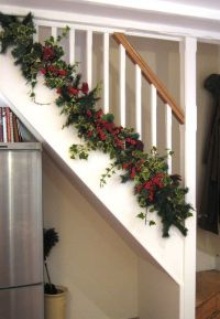 The Bottom of Christmas Banister Decorating Ideas View ...