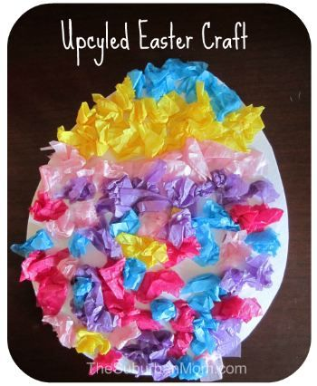 Quick Easy and Cheap Easter Craft for Preschoolers
