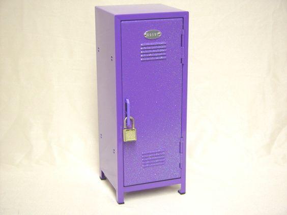 Cute Locker Wallpaper Purple Glitter Mini Locker Purple Haze Pinterest