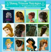 6 disney princess hair tutorials