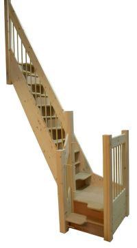 Space-saving alternating tread staircase | Tiny Homes ...
