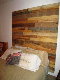 Custom Reclaimed Wood Headboard - | For the Home ...