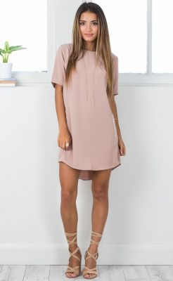 Love the blush color and the longer sleeves. Wish it was a little longer tho.: