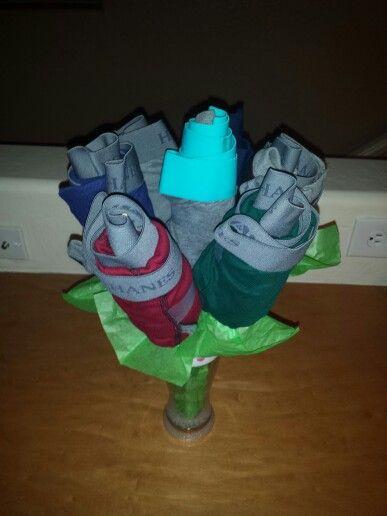 Mens Underwear Flower Bouquet Easy Amp Cute Gift DIY