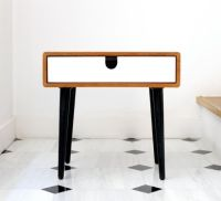 Retro style, Legs and Side tables on Pinterest