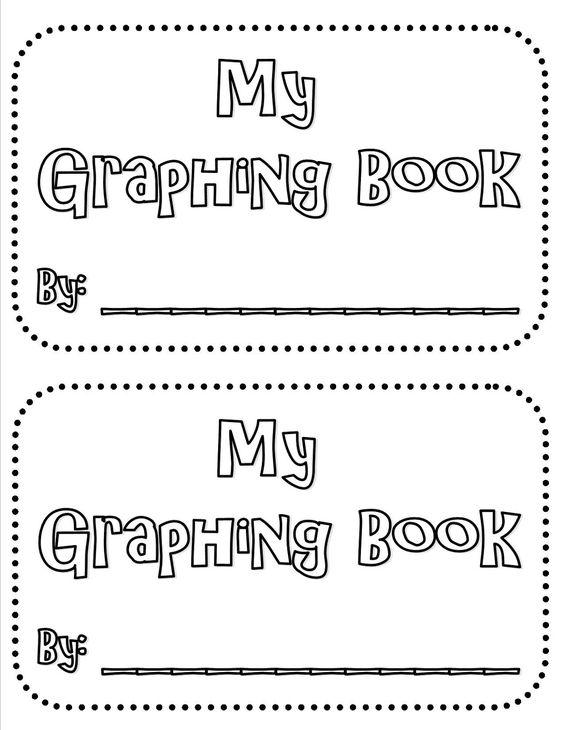 Graphing Mini Book FREEBIE 1st-3rd Grade Common Core