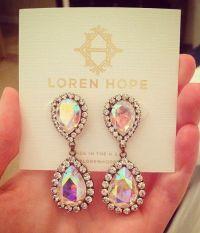 abba earrings in iridescent | Jewels | Pinterest ...