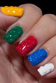 lego nails and nail art