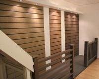 wood plastic wall panels bathroom , interlocking system of ...
