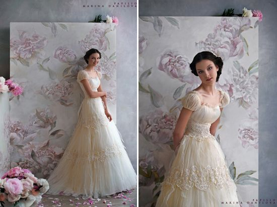 Old World Lace Wedding Dress  One comment on  Beach Wedding Destination Theme Mexican