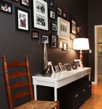 charcoal paint Behr Ultra Intellectual...perfect for an ...