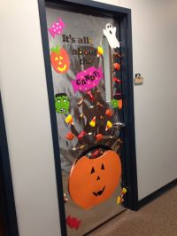 Halloween office, Office doors and Offices on Pinterest