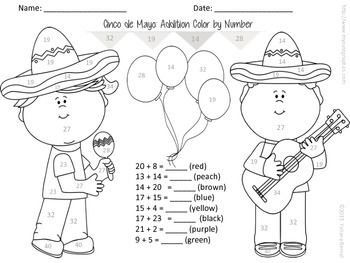 Color by Number Free Clip Art