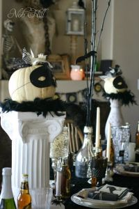 Masquerade Halloween Dinner Party | Masquerade Ball ...