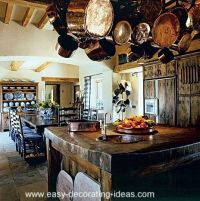 english country decorating/images | Rustic Italian Kitchen ...