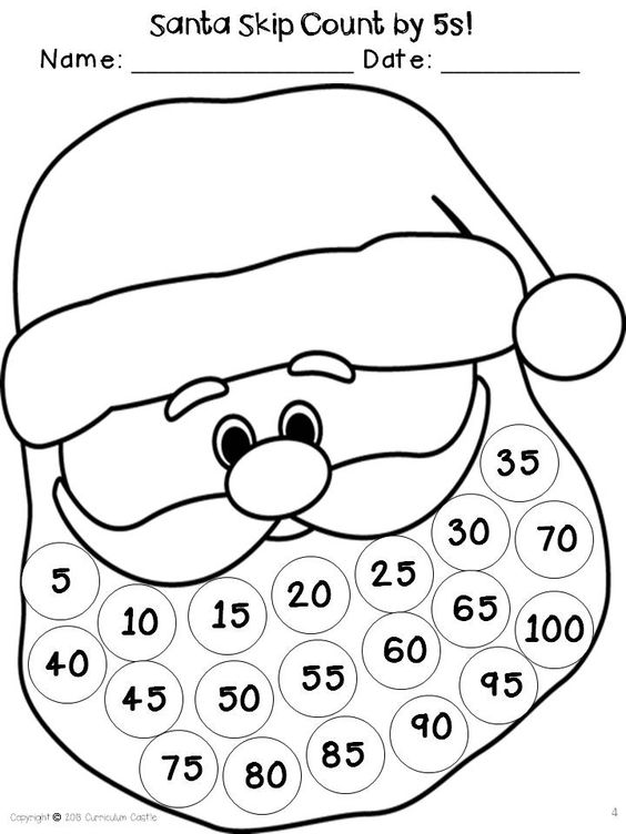 Count, Number words and Advent calendar on Pinterest