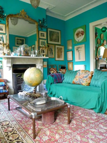 turquoise bohemian bedroom ideas Turquoise, French vintage and British on Pinterest