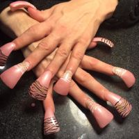 duck tip nails | my extreme nails | Pinterest | Nails ...