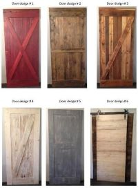 New Barn wood door designs from Prairie Barnwood... | For ...