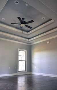 Double tray ceiling | 118 Teal | Pinterest | Ceilings ...