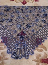 irish crochet shawl | CROCHET.freeform | Pinterest | Irish ...