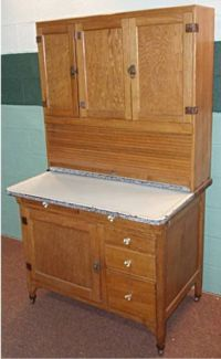 How much is an oak Hoosier cabinet worth? | Hoosier ...