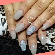 sns nails dipping powder lupe