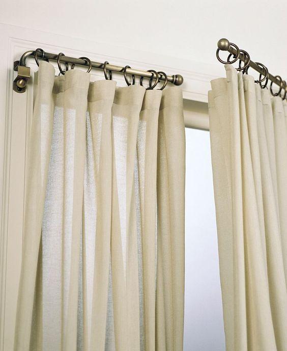 Umbra 3036 Ball Swing Curtain Rod  Window Treatments