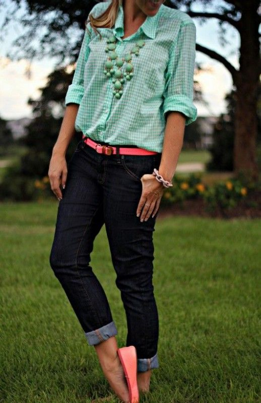 8 preppy casual spring outfits - Page 3 of 8 - women-outfits.com:
