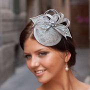 cocktail hat bridal and swarovski