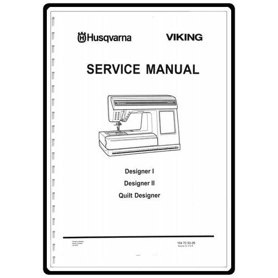 Service Manual, Viking Designer 1: Sewing Parts Online