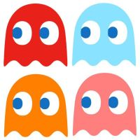 Pacman+wall+decal+by+StickMeUp+on+Etsy,+$25.00 | iKids ...