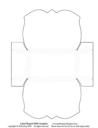 Paper, Gift box templates and Box templates on Pinterest