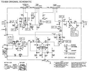 Ibanez TS808 Schematic | Pedal Tech | Pinterest