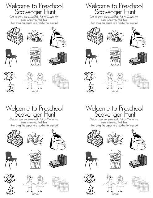 Preschool open houses, Open house and Preschool on Pinterest
