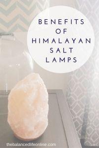 Lamps, Himalayan salt and Salts on Pinterest