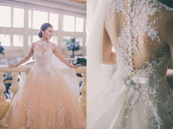 Lace, Wedding And Gowns On Pinterest