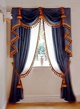 Wonderful Swag Jabot Tie Back And Sheer Curtains Curtains And Windows