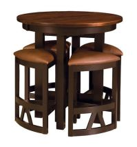 Pub tables, Dining stools and Amish on Pinterest