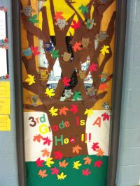 Classroom door decor! I did this for mu son's 3rd grade ...
