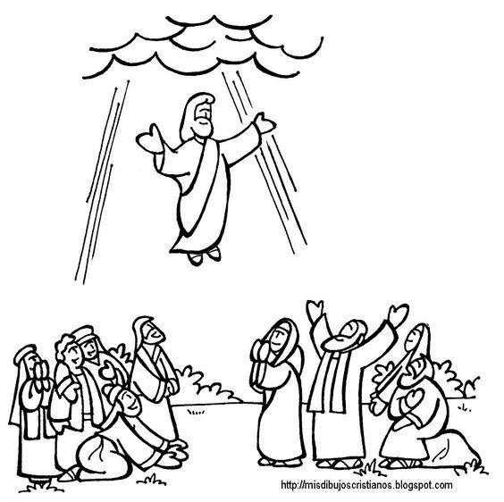 Jesus and Ascension of jesus on Pinterest