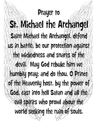 Prayer cards, The angel and The archangels on Pinterest