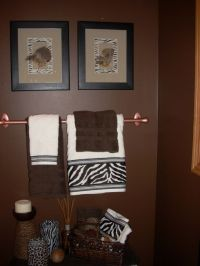 African American Bathroom Decor Accessories | Animal Print ...