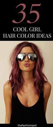 unique hair color cool