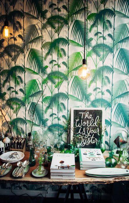 Greenery en paredes