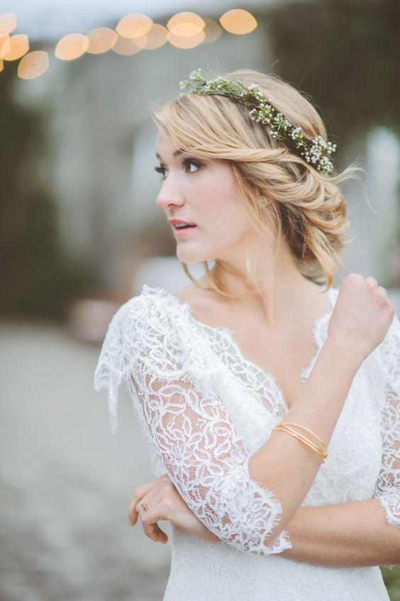 perfect bridal bohemian look // photo by Paper Antler: