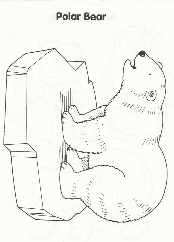 Preschool ideas, Polar bears and Tissue paper on Pinterest