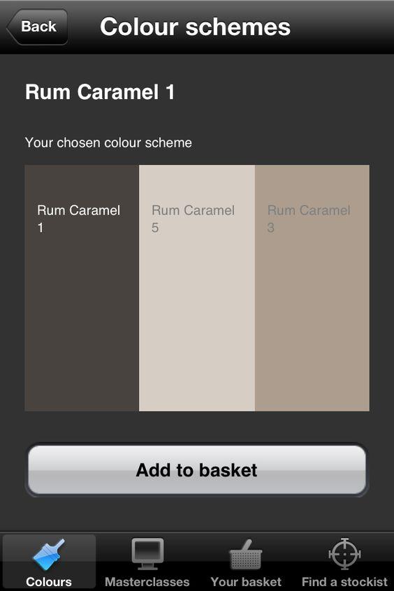 Dulux Colour Scheme Rum Caramel 1 Decor And Art Deco